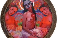 Austin-Eddy-Dia-de-los-Muertos-Oil-Painting