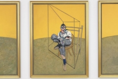 Three Studies of Lucian Freud - Francis Bacon's 1969 triptych