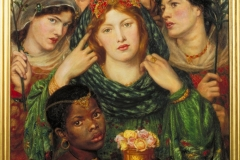 Dante Gabriel Rossetti The Beloved (The Bride) 31 x 30 inches/ 80 x 76 cm